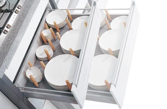 磁式圓形櫸木棒置盤組
