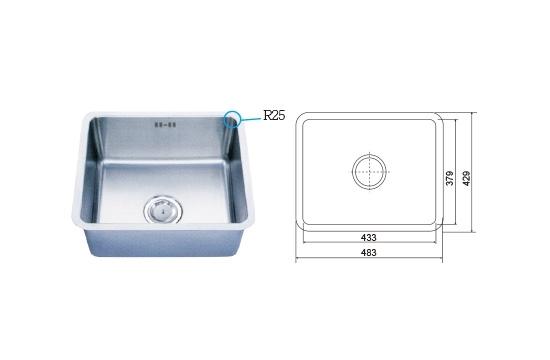 WP-87205L 四方槽-毛絲面