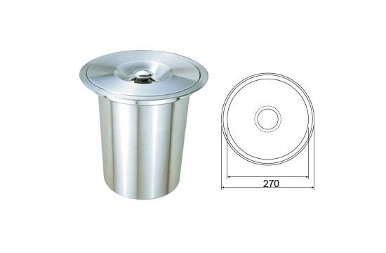 WP-87521 檯面圓型ST垃圾桶