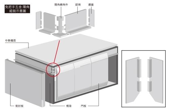 L6左右鋁邊蓋(組)