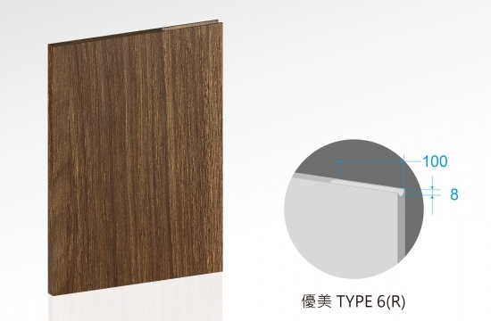 U優美造型富康門板-TYPE6(R)