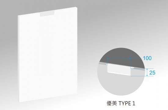 U優美造型S6賽諾森門板-TYPE1