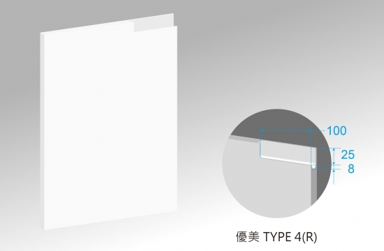 U優美造型S6賽諾森門板-TYPE4(R)