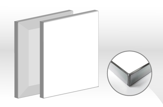 鏡面E型AG薄霧玻璃門板