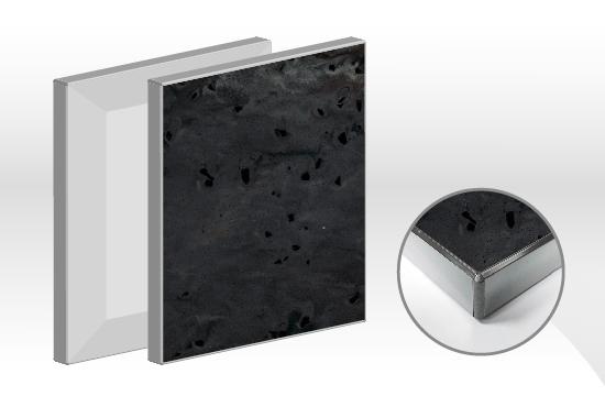 鏡面E型德國康麗人造石門板