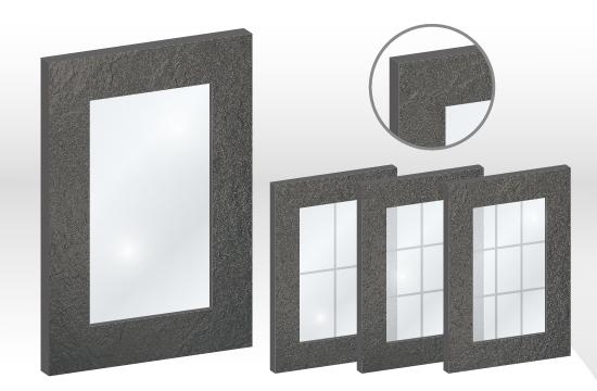S6賽諾森框型玻璃門板
