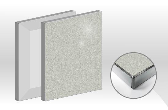 鏡面E型H8超薄玻璃門板