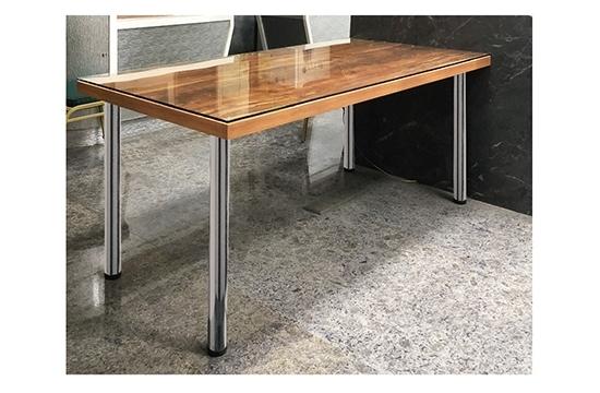 桌腳Ø60-鉻色