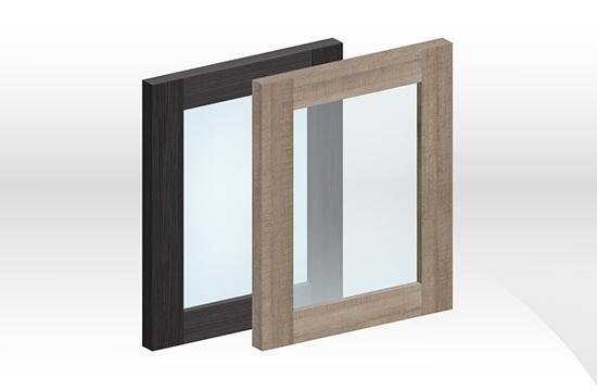 GEA拼框玻璃門板