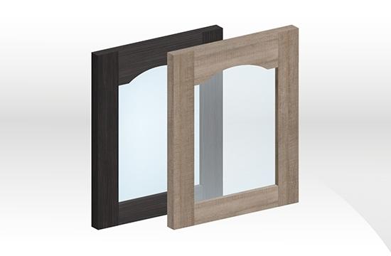 GEB拼框玻璃門板