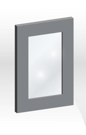 GPS框型玻璃門板