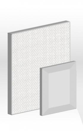 鏡面E型鋁框門板