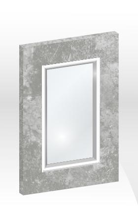 GB框型鋁邊玻璃門板