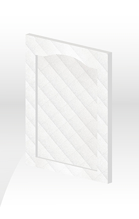 波爾多框型門板-染白皮紋
