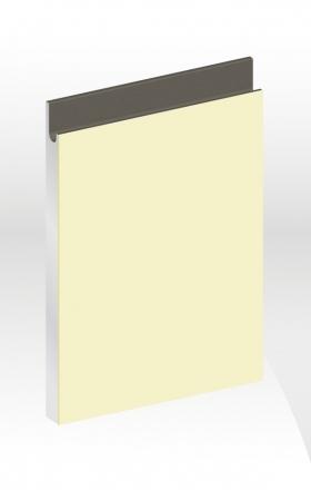J型玻璃門板