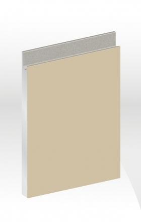 J型薄霧玻璃門板